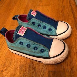 Converse Chuck Taylor Simple SlipOn Blue toddler 7